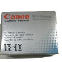Vintage Canon IR-10 Electronic Typewriter Black Ink 6 Per Case Part # 920200 NOS
