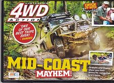 4WD Action DVD # 215  Mid-Coast Mayhem  Never Viewed  As New  All regions