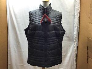 The North Face Women's Mossbud Swirl Reversible Fleece Vest: TNF Black, XXL —NWT