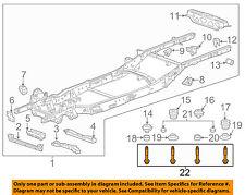s l225 general motors genuine oem motor mounts for chevrolet colorado ebay