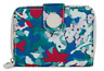 Kipling New Money Small Wallet Tinted Floral Multicolor Polyester