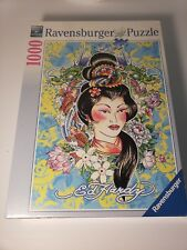Ed Hardy: Geisha - 1000 Piece Puzzle by Ravensburger NEW and Sealed