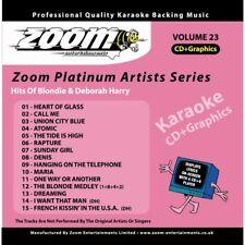 Zoom Karaoke Platinum Artists Series Volume 23 CD+G - Blondie & Deborah Harry