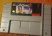 ActRaiser 2 (Authentic) (Super Nintendo, SNES, 1993) Contacts Cleaned And Works