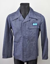 UGECOMA France Unwashed Denim Selvedge Jacket Small Men's Raw Vintage Selvage S