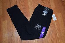 NWT Womens NINE WEST JEANS Black Skinny UpLifter Pull-on Jeans Sz 8