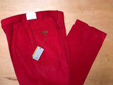 Hertling. Holiday Red 100% Cotton Corduroy | Camper D fit | Size 36 | 2006.