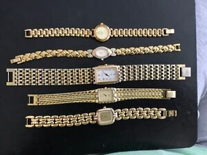 Vintage Ladies Watch Jewelry Lot Citizen, Noblia, Pulsar, Bulova, Raymond Weil