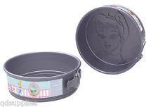 "Disney Princess Cinderella Cake Baking Tin Round 8"" Non Stick Springform 79291"