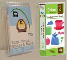 2 Cricut Cartridges Tags Bags Boxes and More ORIGINAL & Tags Bags Boxes & More 2
