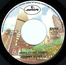 JOHNNY RUSSELL Here's To The Horses ((**NEW UNPLAYED 45**)) from 1981