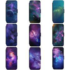 Planeta espacio GALAXY NEBULA Cosmos Estrellas Funda para Estuche de Teléfono Abatible estilo Billetera SAMSUNG