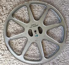 Bobine métal cinéma FILMS PARAMOUNT diam 35,5 cm 600m pour film 16mm reel