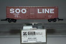 z Scale Mtl 13610 Soo Line 50' Std. Plug Door Boxcar 15579 K9210