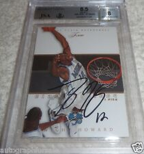 Dwight Howard autographed signed auto 2004-05 Flair card #82 graded BGS 8.5 JSA
