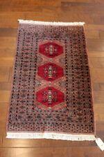 Hand-knotted Carpet Peshawar Bokhara Wool Rug