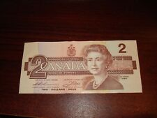 1986 - Canada - $2 note - Canadian two dollar - BUH8013056
