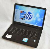 "hp 17-x114dx 17.3"" 1600x900 ● i5-7200U 7th 8GB RAM 1TB  HDD 💎"