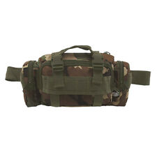 Militaire Taille Heup Pack Schoudertas 7 Zakken Wandelen Reizen Woodland Camo