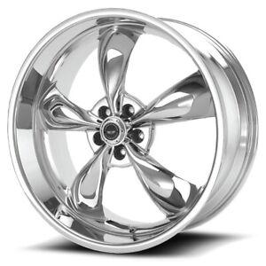 "American Racing AR605 Torq Thrust M 17x7.5 5x4.5"" +45mm Chrome Wheel Rim 17 Inch"