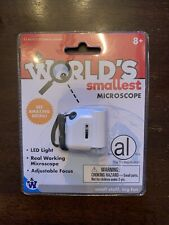 Worlds Smallest Microscope (by Westminster) New & Sealed