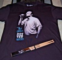 """AUTHENTIC 2018 """"Phil Collins Not Dead Yet Concert -T (L)   STICKS  NOT INCLUDED"""