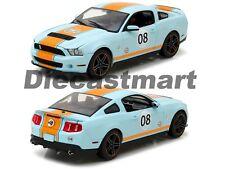 2012 Shelby GT500 Ford Mustang Golfo Petróleo 1:18 de Metal Coche por Luz Verde