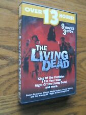 The Living Dead 9 Movies 3 Dvds, Dvd Night Of The Living Dead, King Of Zombies,