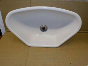 Cream Caravan Motorhome Corner Sink Bowl - CBS7-DD-35