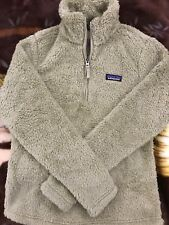 Patagonia Women's Los Gatos 1/4 Zip Fleece Pullover El Cap Khaki Size Small