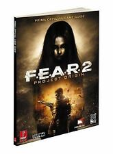 F.E.A.R.2: Project Origin NEW SEALED Manual, Fletcher Black & Catherine Browne