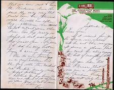 1940 Canada - Athabasca Hotel - Jasper National Park Alberta  -  Letter Head