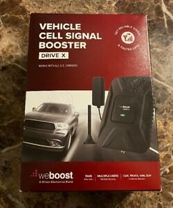 NEW weBoost Drive X (475021) Vehicle Cell Phone Signal Booster Car Truck Van