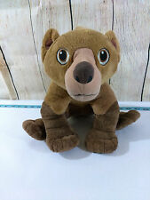 2003 Disney Brother Bear Movie Koda Talking Plush Toy Doll Animal Clean Soft
