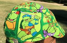CYCLING CAP NINJA TURTLES 100% Cotton ONE SIZE & ANY SIZE HANDMADE