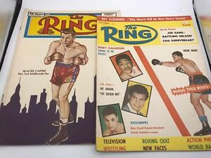 2ct The Ring, World's Official Boxing Magazine  (September 1956 & August 1951)