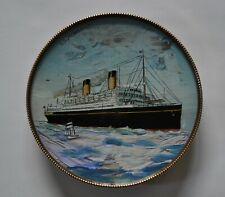 White Star Line  RMS Homeric Portrait Pin Dish
