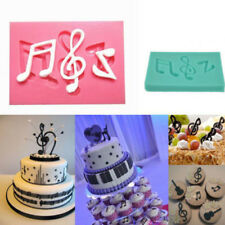 Music Notes Silicone Mould Cake Chocolate Candy Fondant Decoration Sugarcraft