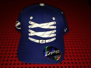 "Zephyr Tampa Bay Lightning NHL Hockey ""Lace Up"" Snapback hat NWT YOUTH"