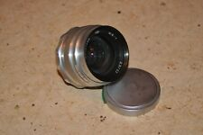 Lens rare early mir-1 2,8/37 m39 (White) grand prix Brussels 1958. № 6501586