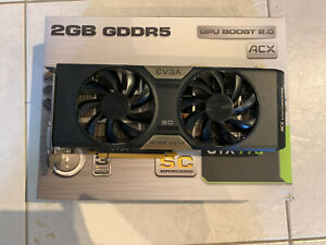 EVGA GTX 770 SC 2GB FULL SET