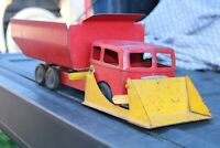 Roberts Toy Co Load n Dump Truck - Pressed Steel - USA - construction