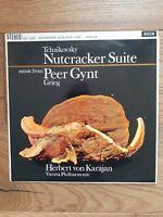 SXL 2308 TCHAIKOVSKY Nutcracker Suite Grieg Peer Gynt Karajan Decca Stereo