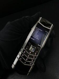 Original Vertu Signature S 2016 Diamond Alligator Cellular Phone (Unlocked)
