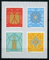 Switzerland Christmas Stamps 2019 MNH Decorations Candles 4v S/A Set