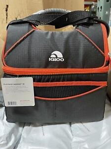 IGLOO Playmate Gripper 16 can Lunchbox Cooler Bag Red