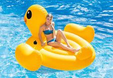 Intex 56286 Aufblasbare Ente Figur Aufblasware Luftmatratze 221 X 221 X 109 cm