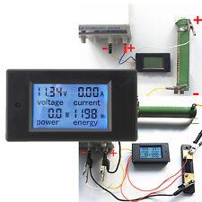 DC 100A Digital LED LCD Meter Monitor Power Energy Voltmeter Ammeter Tester