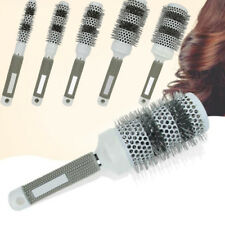 Thermal Ceramic Iron Radial Comb Curly Hair Comb Round Barrel Hair Brush Styling