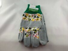 NEW True Living Garden Leather Gloves 1 Pair